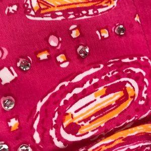 Lilly Pulitzer Pink Strapless w Rhinestones💚